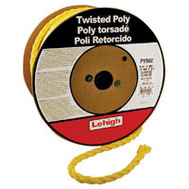 Lehigh Group PY582 Twisted Poly Rope 5/8 X 200 Yellow