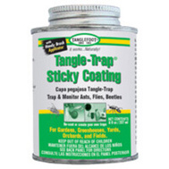 Tanglefoot 0461612 Coating Sticky W/Brush Cap 8 Ounce