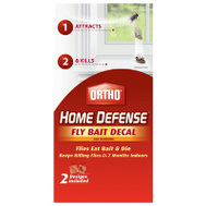 Ortho 0491010 Decal Fly Bait F/Windows 2pack