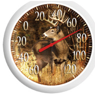 Taylor 90007-22 Thermometer Patio 13 Inch Deer