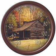 Taylor 90007-214 Thermometer Patio 13 Inc Lodge
