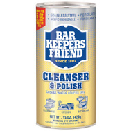 Bar Keepers Friend 11584 15 Ounce Cleanser & Polish