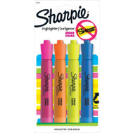 Sanford 25174 Accent 4 Pack Assorted Highlighters