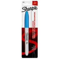 Sanford 30103 Sharpie Marker Permanent Fine Pt Blue