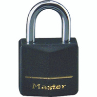 Master Lock 131Q 1-3/16 Inch Padlock Covered Brass Pack Of 4