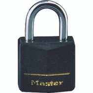 Master Lock 141T 1-9/16 Inch Padlock Covered Brass Pack Of 2