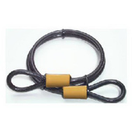Master Lock 85DPF 4 Foot Double Looped Steel Cable