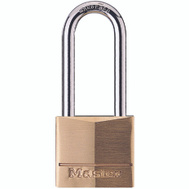 Master Lock 140DLH 1-9/16 In Solid Brass Padlock