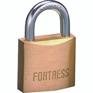 Master Lock 1840Q Fortress 1-9/16 Inch Padlock Solid Brass Pack Of 4