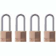 Master Lock 140QLH 1-9/16 In Solid Brass Padlock