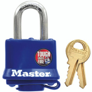 Master Lock 312D 1-1/2 Inch 4 Pin Tumbler Covered Padlock By