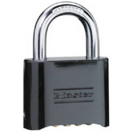 Master Lock 178D 2 Inch Black Resettable Combination Padlock