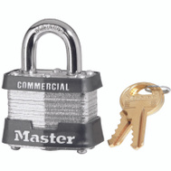Master Lock 3KA3202 1-9/16 In Keyed Alike Steel Padlock
