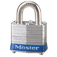 Master Lock 3UP 1-1/2 Inch 4 Pin Tumbler One Key Padlock One Key System
