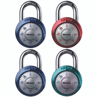 Master Lock 1561DAST 1-7/8 Inch Combination Padlock Assorted Colors