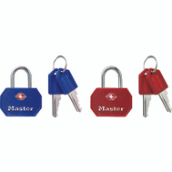 Master Lock 4681TBLR Tsa Approved Luggage Lock Pack 2 Rec Or Blue At Random