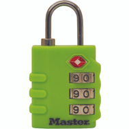 Master Lock 4684T Set Your Own 1-3/8 In Tsa Luggage Lock 2 Pack
