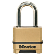 Master Lock M175XDLFCCSEN 2 Inch Resettable Combination Padlock