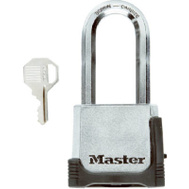 Master Lock M176XDLHCCSEN 2 Inch Lock 2 Inch Shackle Key Accessible Combination Padlock