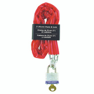 Master Lock 716D SG Chain And Padlock 3 Foot Long