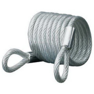 Master Lock 65D Self Coiling Cable With Looped Ends 6 Foot