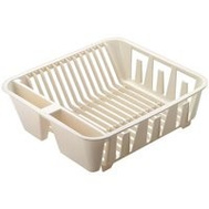 Rubbermaid Home FG6049ARWHT Drainer Dish Small White