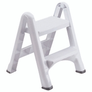 Rubbermaid Home 4209-03 WHT EZ Step White Folding Stool