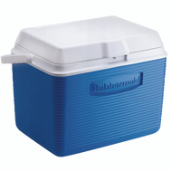 Rubbermaid Home FG2A1304MODBL Victory 24 Quart Pacific Blue Cooler