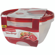 Rubbermaid Home 1787831 Takealongs Bowl Contanr Covrd 2Pc 13Cup