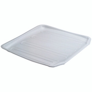 Rubbermaid Home 1180-AR-WHT White Twin Sink Drainer