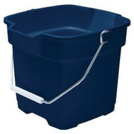 Rubbermaid Home FG296400ROYBL Roughneck 12 Quart Royal Blue Bucket