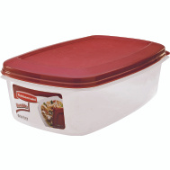 Rubbermaid Home 7J77-00-CHILI Servin Saver Food Storage 2.5 Gallon Chili Red Lid