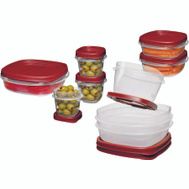 Rubbermaid Home 2066483 Easy Find Lids Container Storage Food 18 Pc