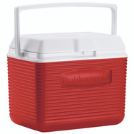 Rubbermaid Home FG2A1104MODRD Victory 10 Qt Clssc Red Cooler