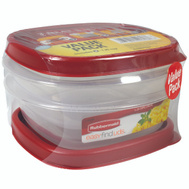 Rubbermaid Home 1777183 Easy Find Lids Container Value Pack 1-1/4Cup