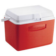 Rubbermaid Home FG2A1304MODRD Victory 24 Qt Clssc Red Cooler