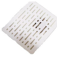 Rubbermaid Home 1G1706WHT Small White Sink Mat