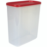 Rubbermaid Home 3922-RD-WHT 1.3 Gallon Durable Canister