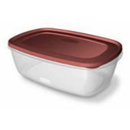 Rubbermaid Home 7J77 Food Storage 2.5 Gallon Chili Red Lid