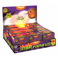 Easter Unlimited 94807PDQ Flaming Pumpkin Light