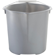 Rubbermaid Home 2077957 Neat N Tidy Bucket Plastic 11 Qt Gry/Rd