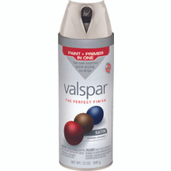 Valspar 85005 Premium Churchill Hotel Vanilla Satin Multi Surface Spray Paint