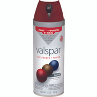 Valspar 85012 Premium Royal Garnet Satin Multi Surface Spray Paint