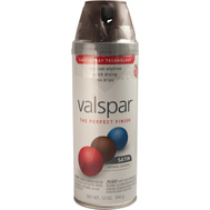 Valspar 85044 Premium Brown Velvet Satin Multi Surface Spray Paint