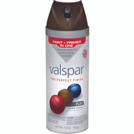Valspar 85046 Premium Labrador Brown Flat Multi Surface Spray Paint