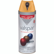 Valspar 85203 Premium Hubbell House Golden Maize Satin Multi Surface Spray Paint