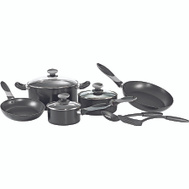 Mirro A797SA94 Get A Grip Cookware Set Black 10 Piece