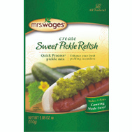Mrs Wages W660-J4425 3.9 Ounce Pickle Relish Mix