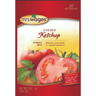 Mrs Wages W541-J4425 5 Ounce Ketchup Mix