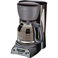 Mr Coffee SKX23-RB 12 Cup Black Programmable Coffeemaker